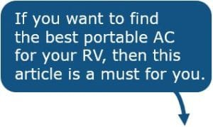 Portable Air Conditioner for Camper Trailer - 2019 Buyer's